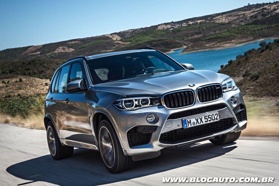BMW X5 M 2018 chega ao Brasil por R$ 648.950