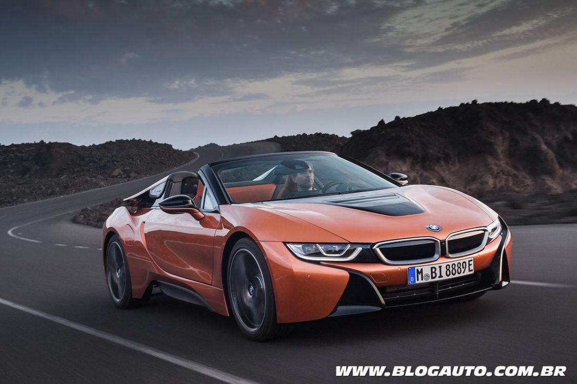 BMW vai ao Salão de Detroit com os novos i8 e X2