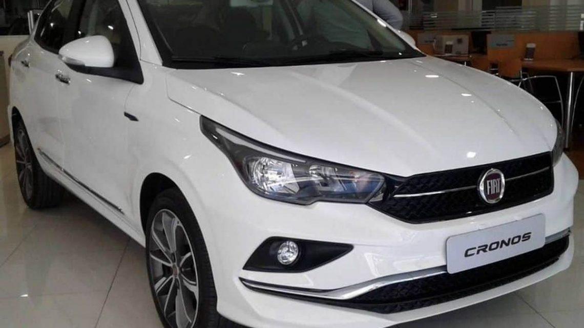 Fiat Cronos 2018 na Argentina