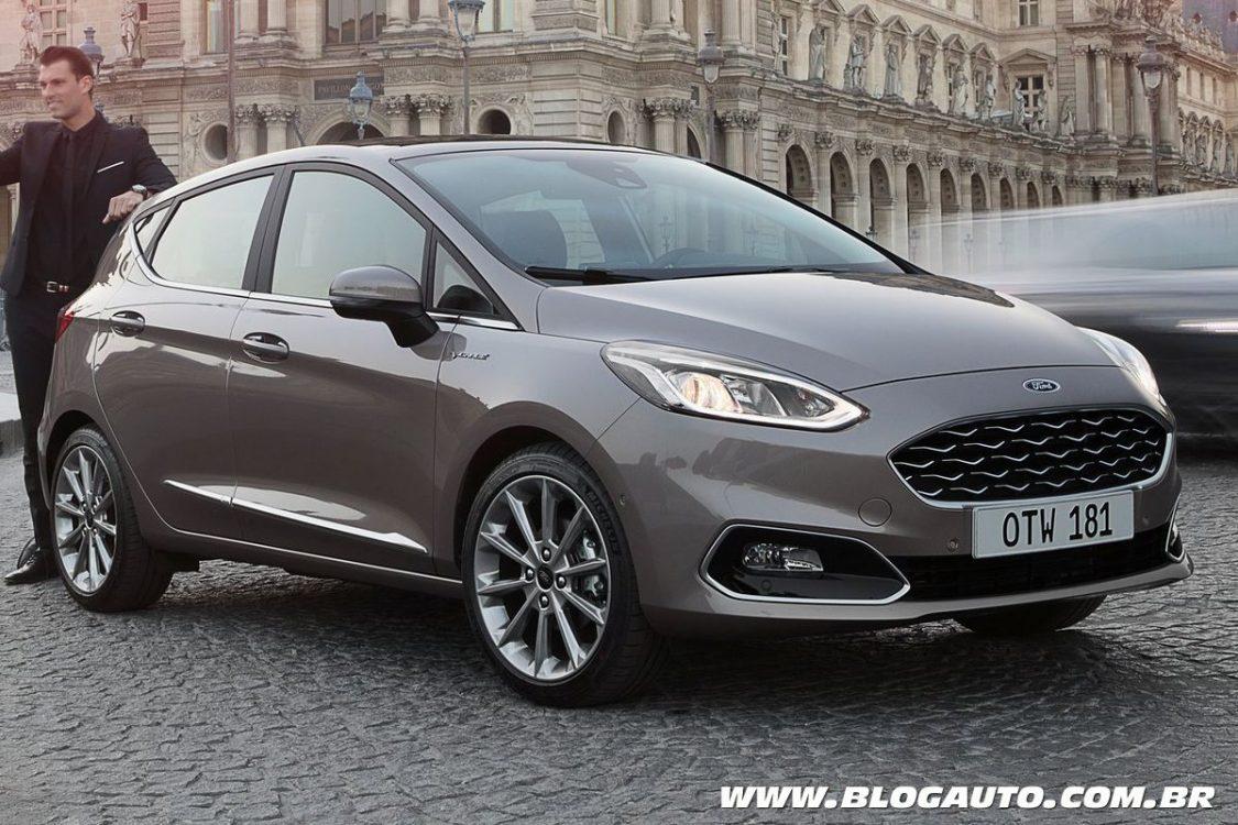Ford Fiesta 2019 tem patente registrada no Brasil