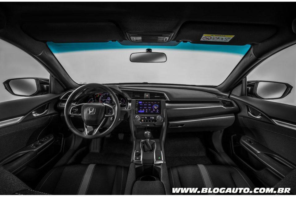 Honda Civic 2018 estreia com mais equipamentos - BlogAuto