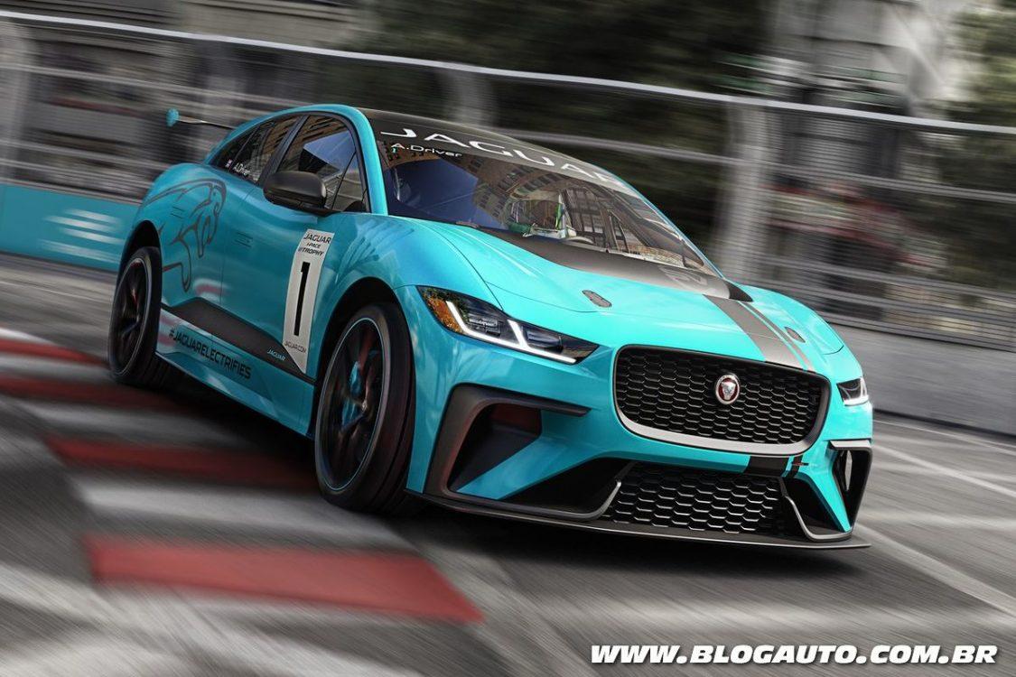 Jaguar I-Pace eTrophy marca nova competição na Fórmula E