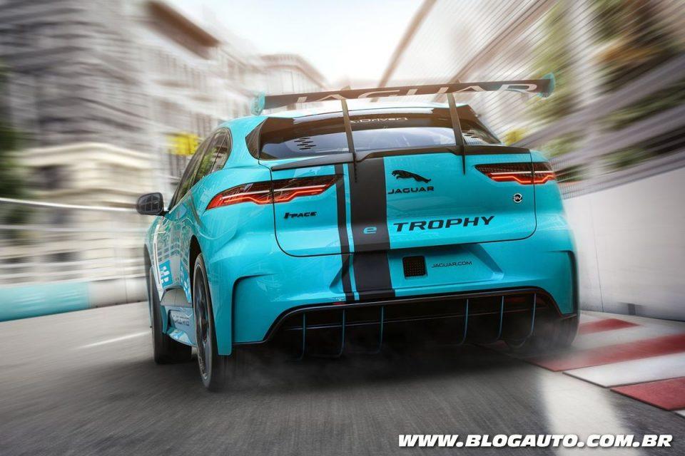 Jaguar I-Pace eTrophy Racecar