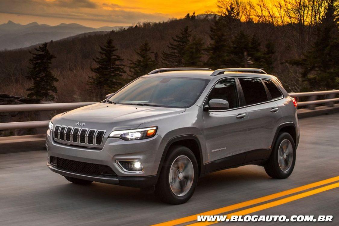 Jeep Cherokee 2019 recebe visual mais 'convencional'