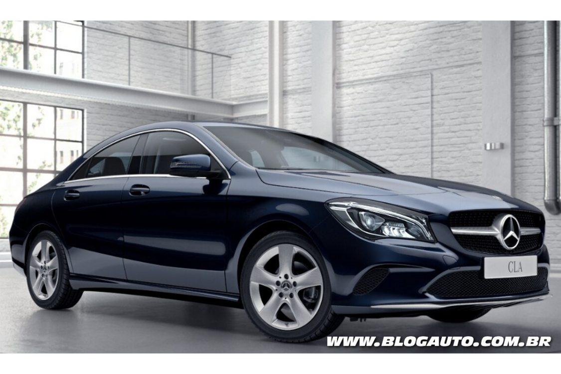 Mercedes-Benz CLA 180 oferece 122 cv por R$ 137,9 mil