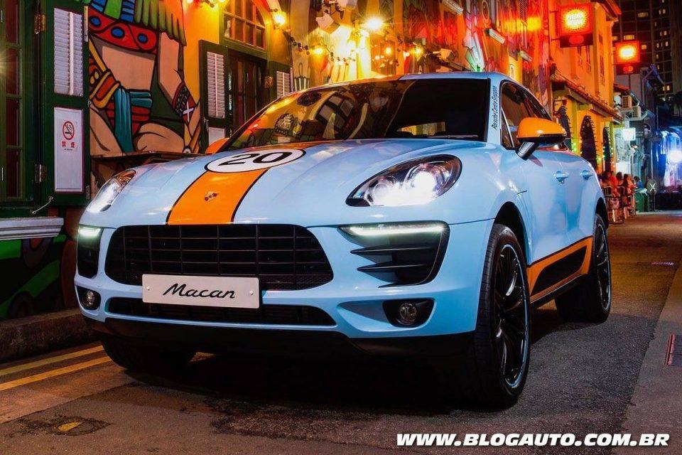 Porsche Macan Gulf Oil