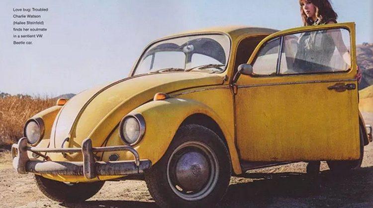 Volkswagen Fusca Bumblebee