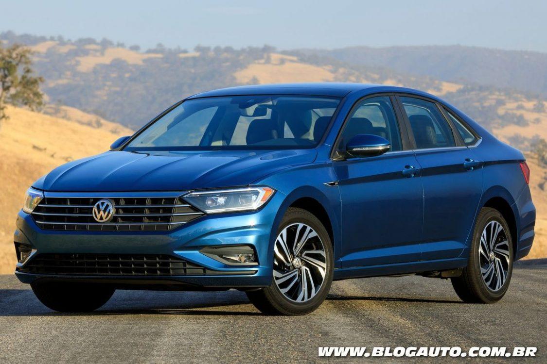 Volkswagen Jetta 2019 estreia sétima geração em Detroit