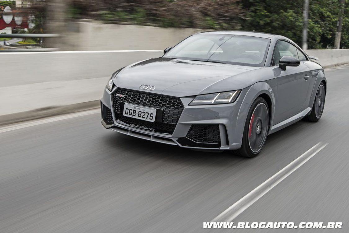 Audi TT RS estreia como o mais esportivo da linha no Brasil