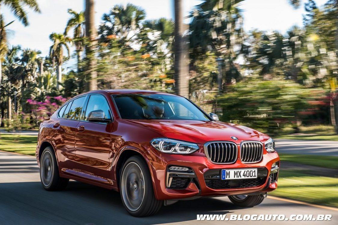 BMW X4 2019 chega a sua segunda geração