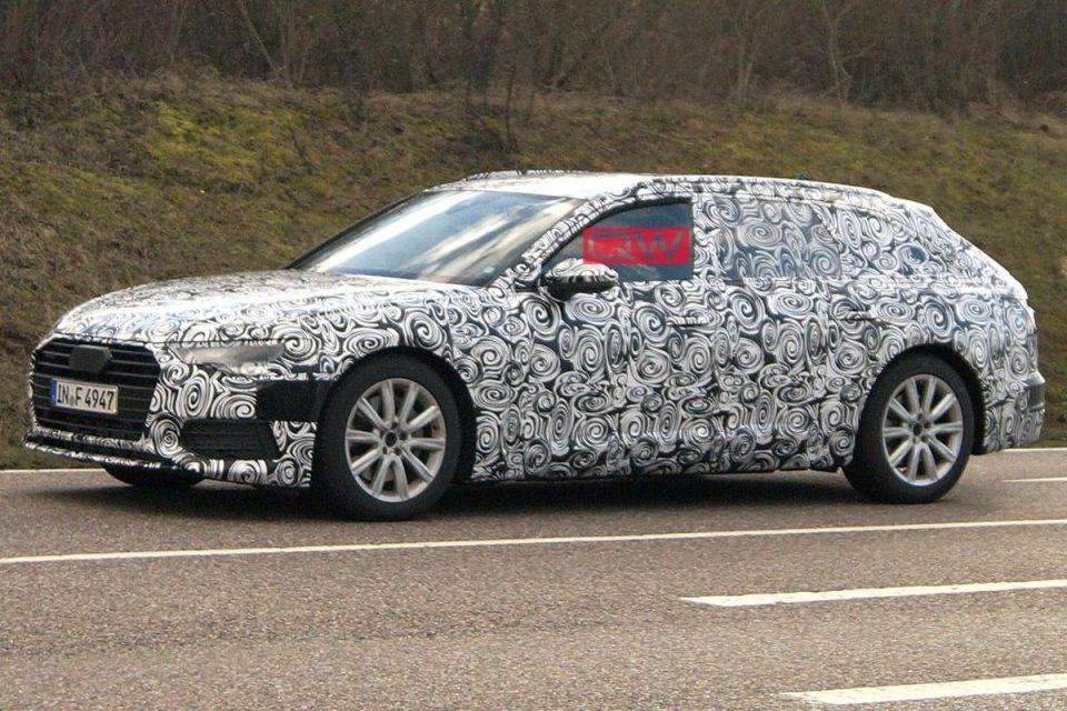 Audi A6 Avant 2019 Segue Em Testes Antes De Lancamento Blogauto