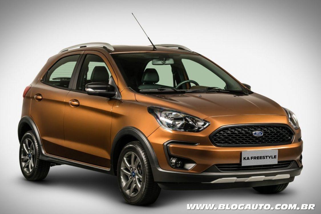 Ford Ka FreeStyle estreia com proposta aventureira