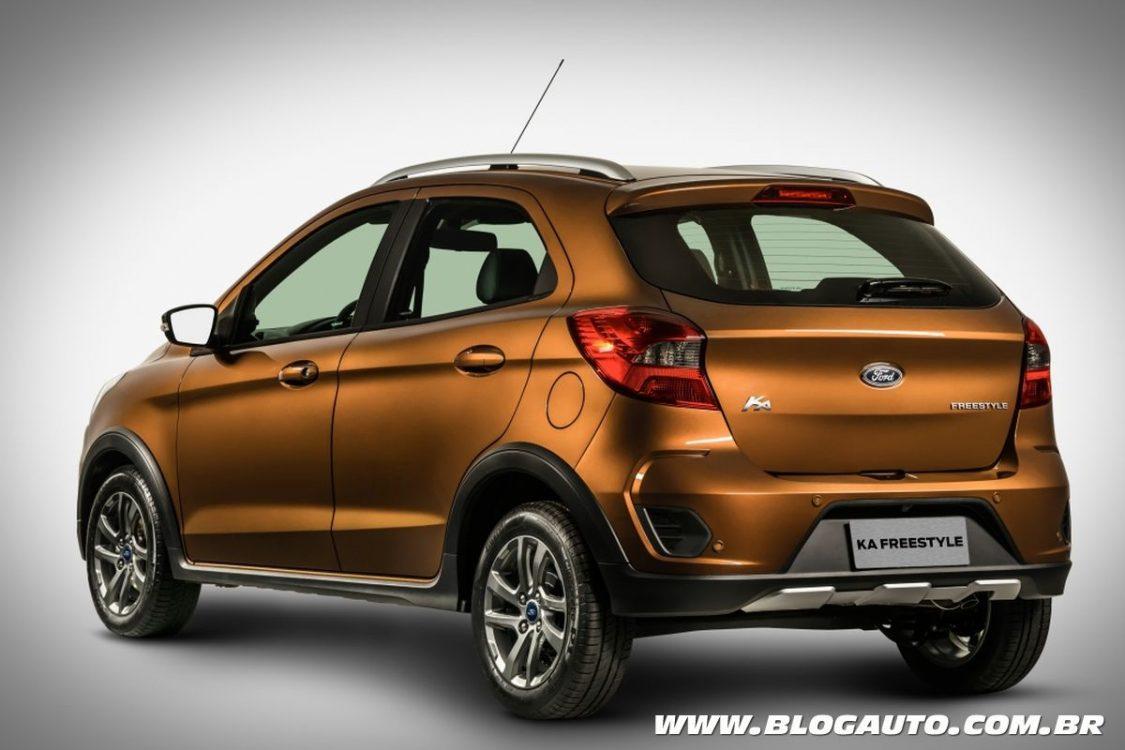 Ford Ka FreeStyle terá preços a partir de R$ 63.490