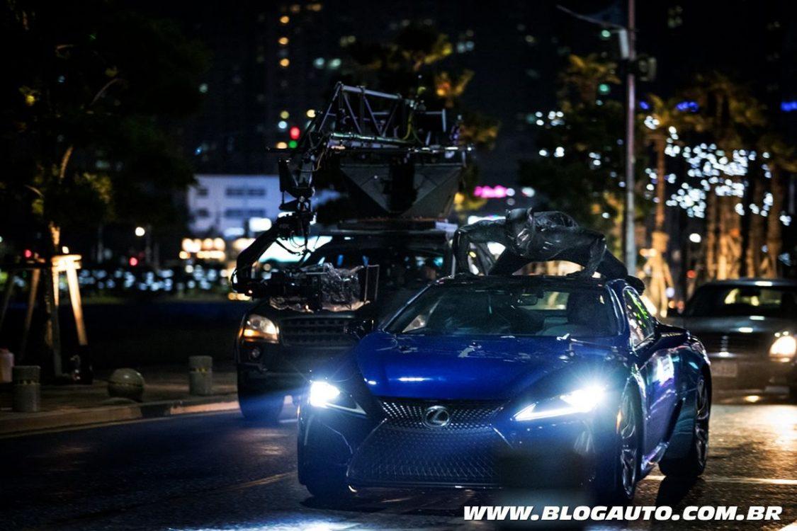 Lexus LC 500 participa do filme 'Pantera Negra'
