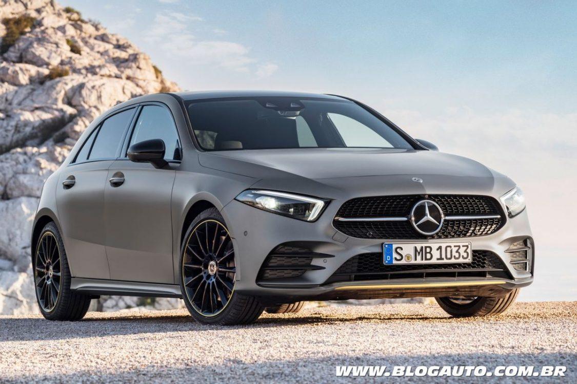 Mercedes-Benz Classe A 2019 fica mais agressivo e moderno
