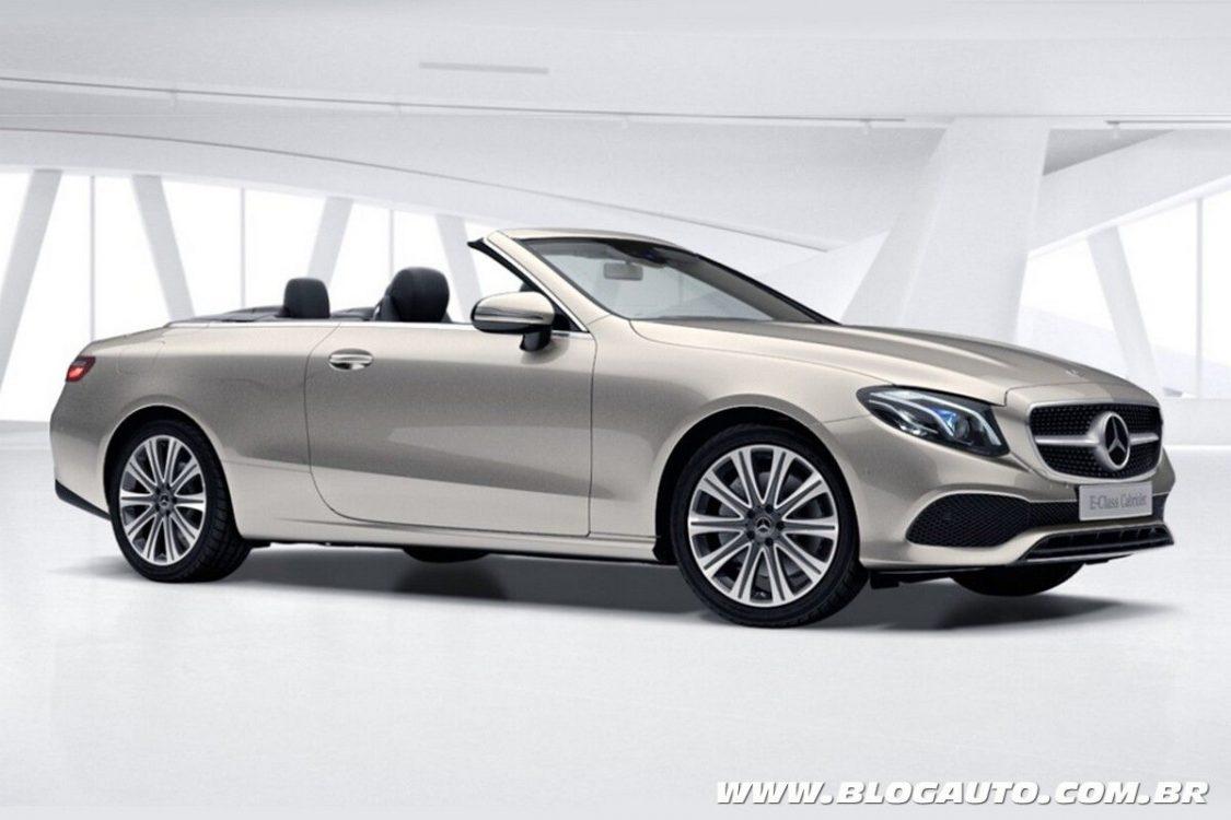 Mercedes-Benz E 300 Cabriolet é lançado por R$ 413,9 mil