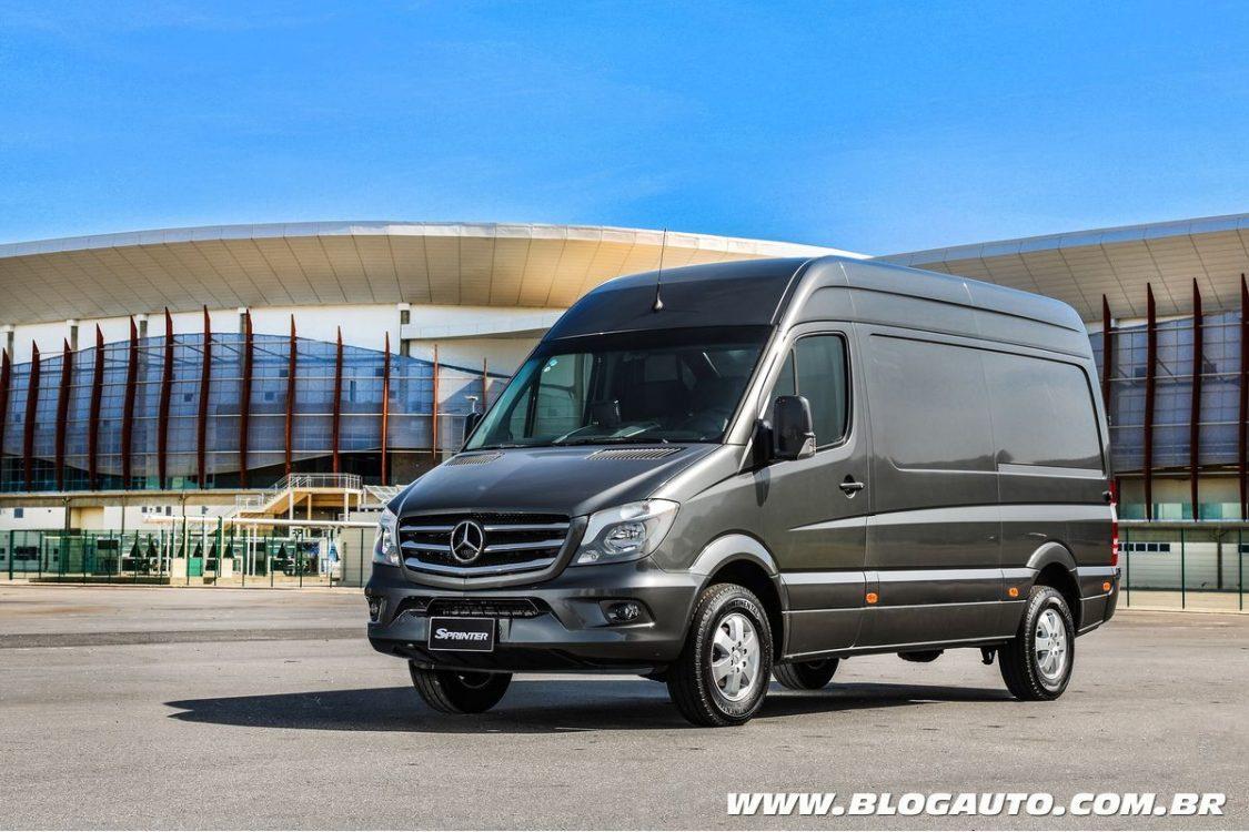 Mercedes-Benz Sprinter volta a liderar no mercado nacional