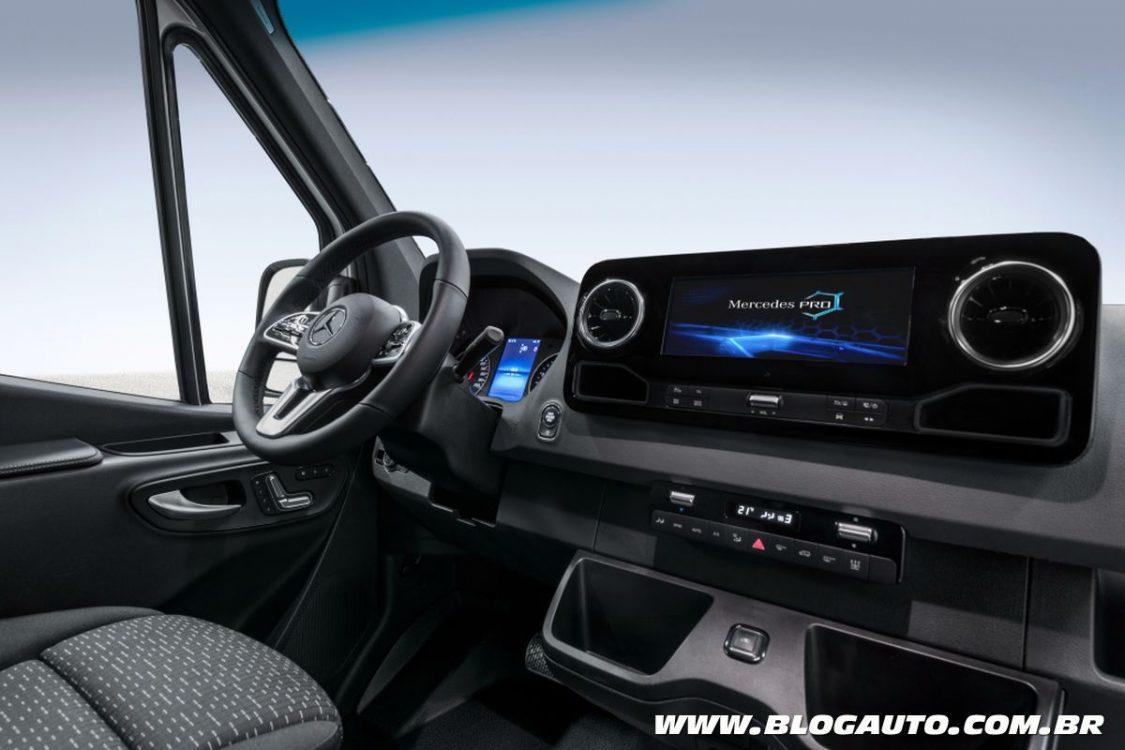 Mercedes Benz Sprinter 2019 Estreia Com Mais Tecnologia
