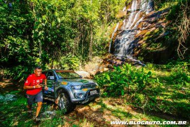 Rali de aventura da Mitsubishi Outdoor