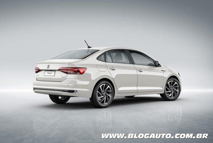 Volkswagen Virtus Highline 200 TSI Branco Cristal