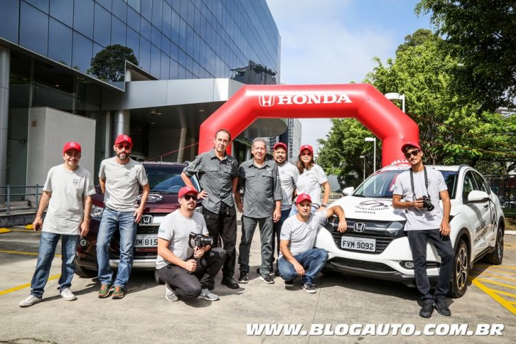 Amyr Klink e equipe iniciam viagem Honda - Pra Lá do Fim do Mundo