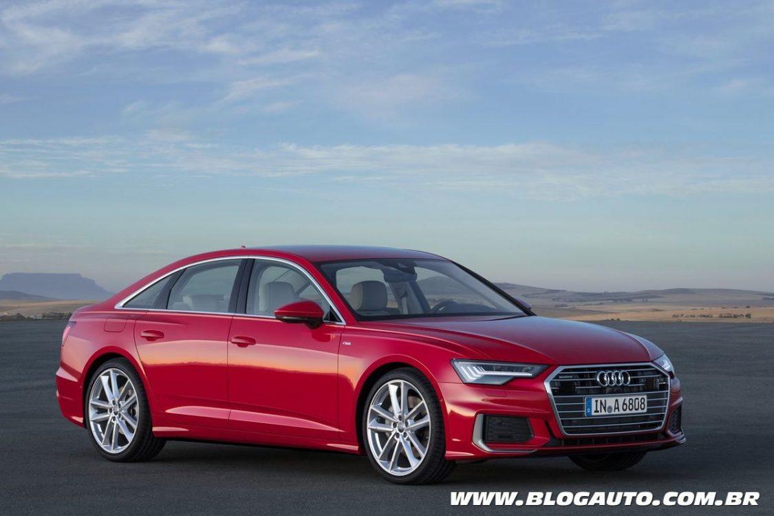 Audi A6 2019 explora modernidade em nova geração