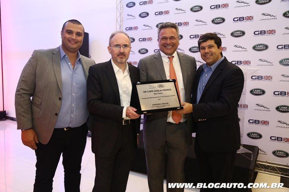 Inauguração da concessionária Jaguar Land Rover do Grupo SHC