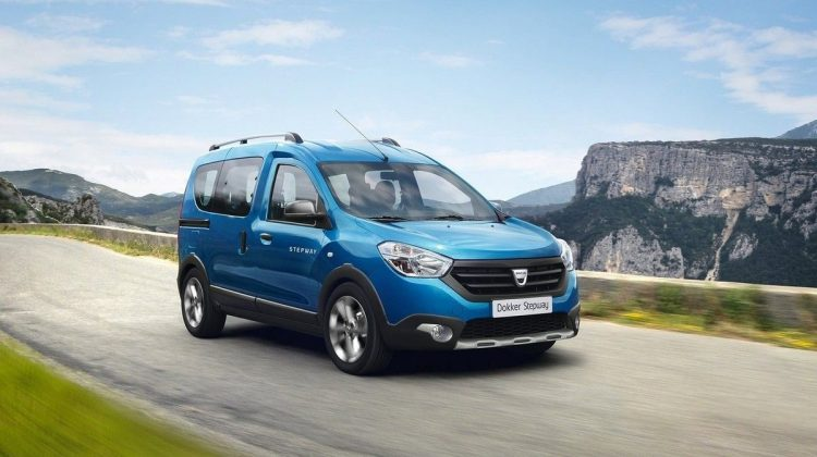 Dacia Dokker Stepway antecipa o novo Renault Kangoo 2019 na versão Stepway