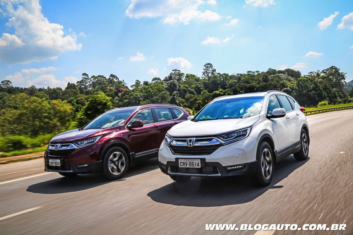 Honda CR-V 2019 muda com motor turbo e custa R$ 179,9 mil