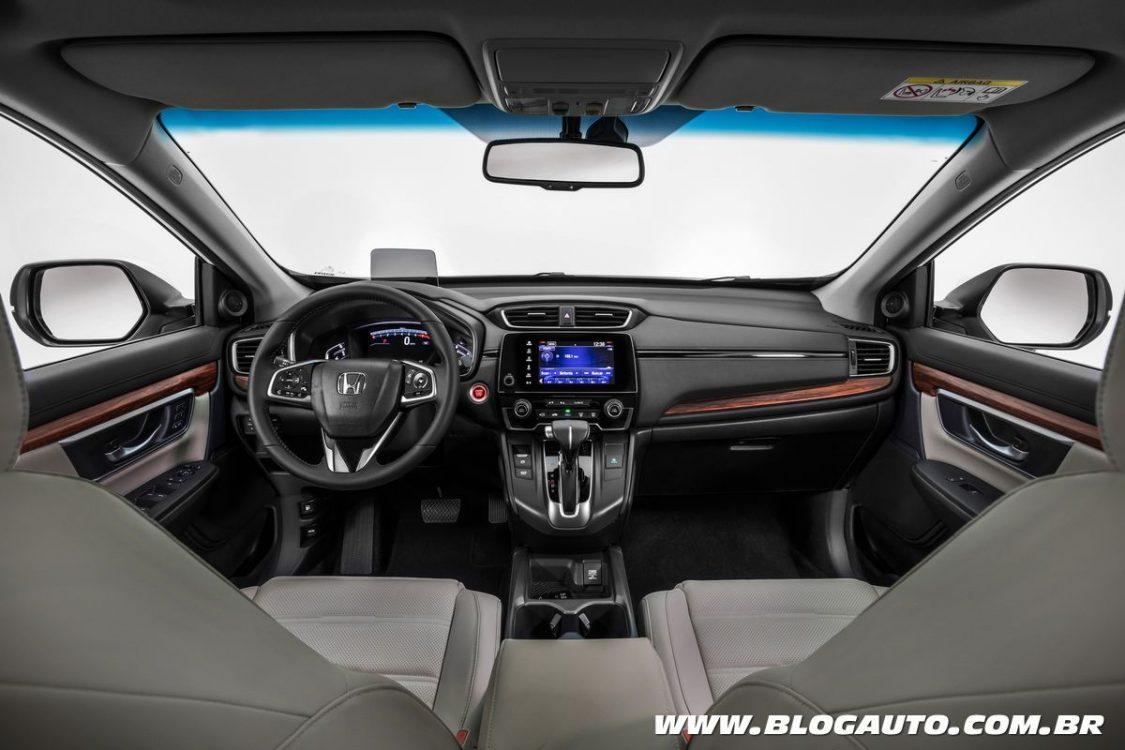 Cr V 2019 >> Honda CR-V 2019 muda com motor turbo e custa R$ 179,9 mil - BlogAuto