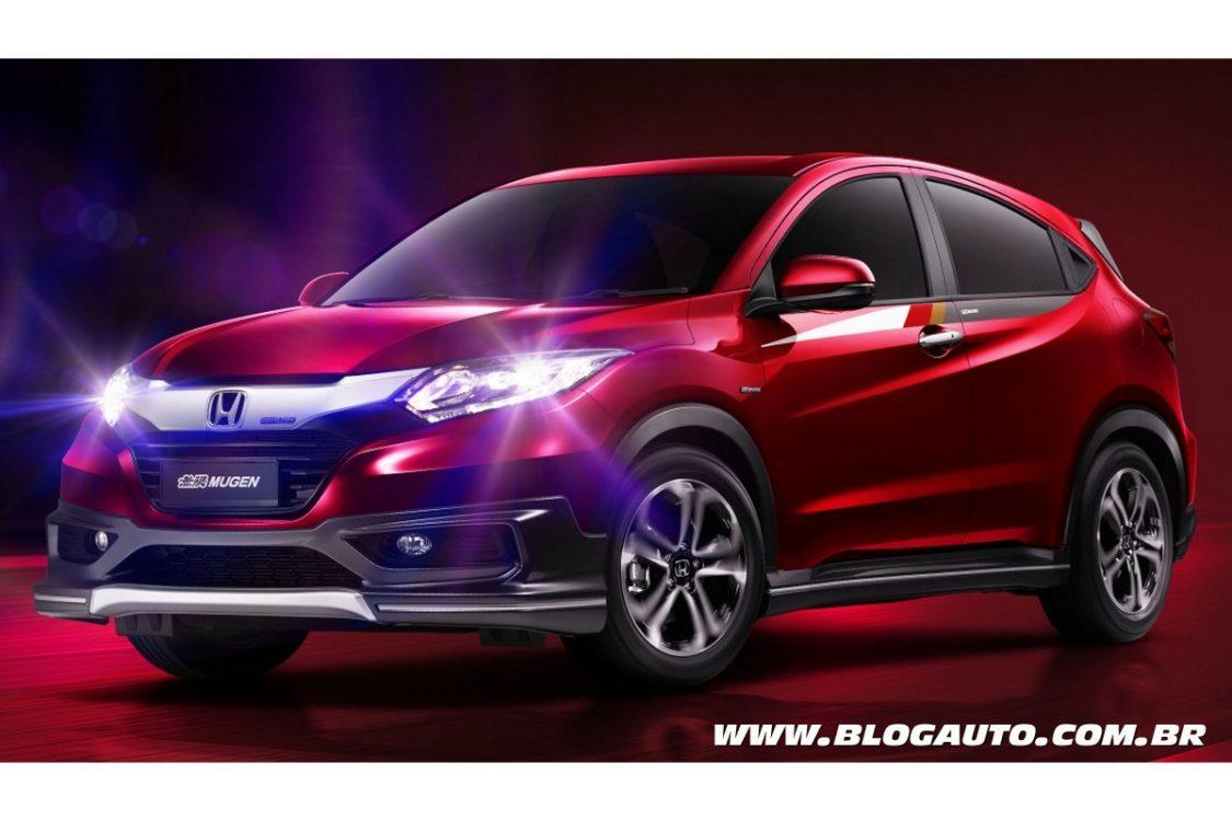 Honda HR-V Mugen oferece apelo esportivo no visual