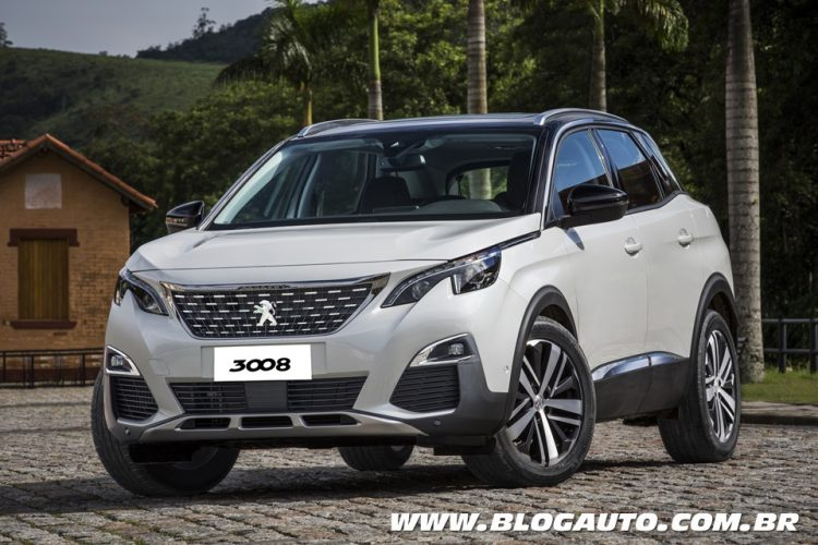 Peugeot 3008 2019 Griffe Pack
