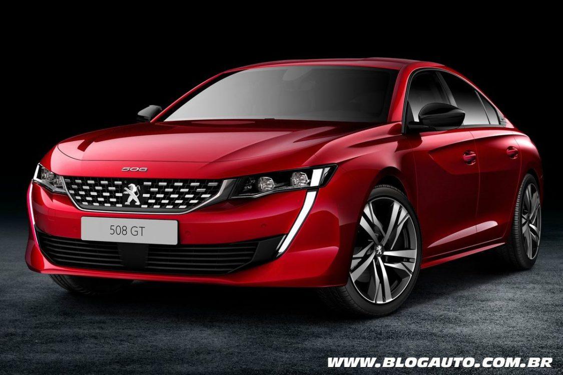 Peugeot 508 2019 sofre mudança radical em nova geração