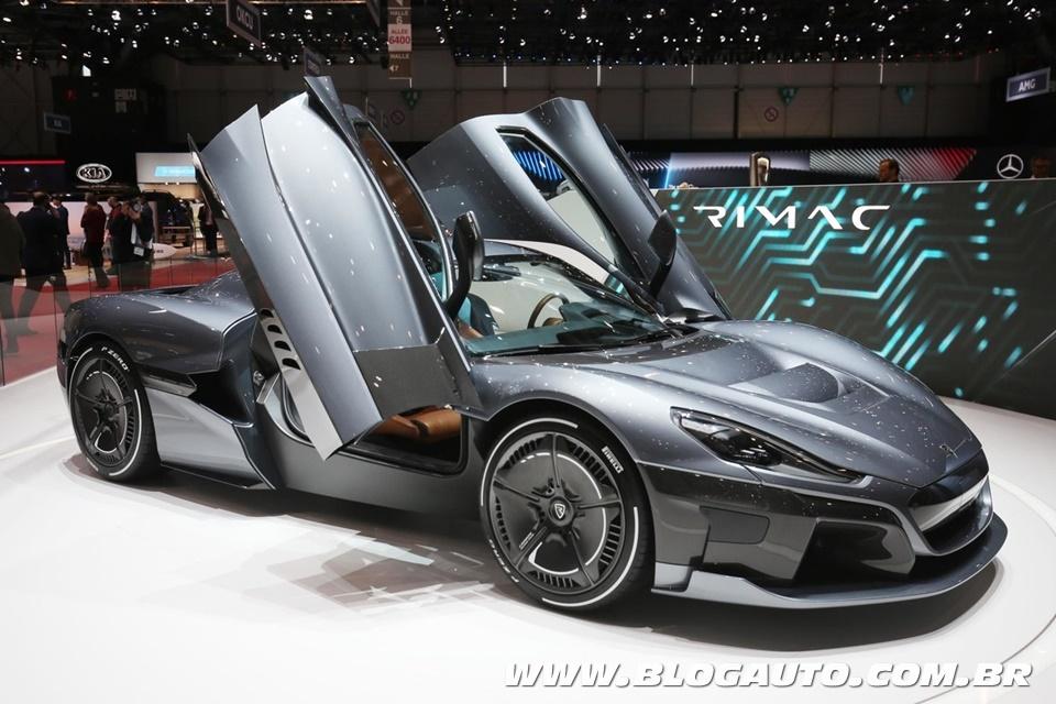 Os 10 carros mais potentes do Salão de Genebra