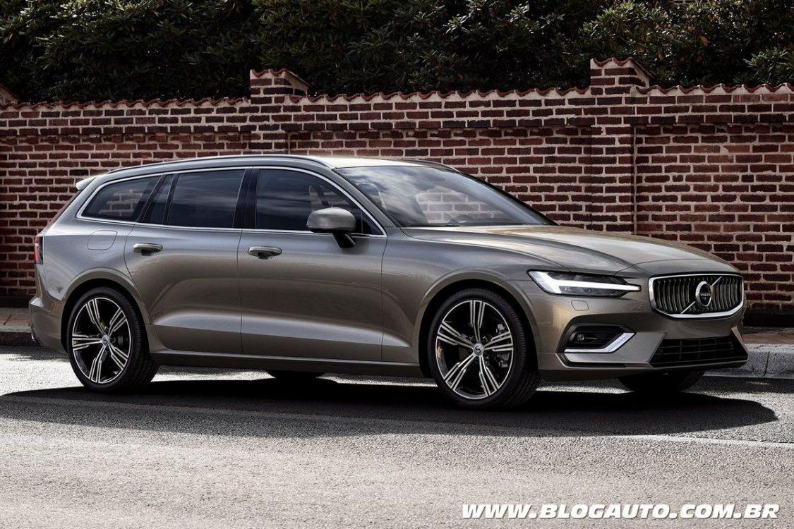 Volvo V60 2019 é uma das mais bonitas peruas do mercado