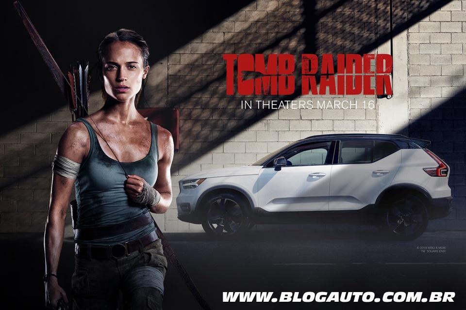 Volvo XC40 estreia nos cinemas em Tomb Raider
