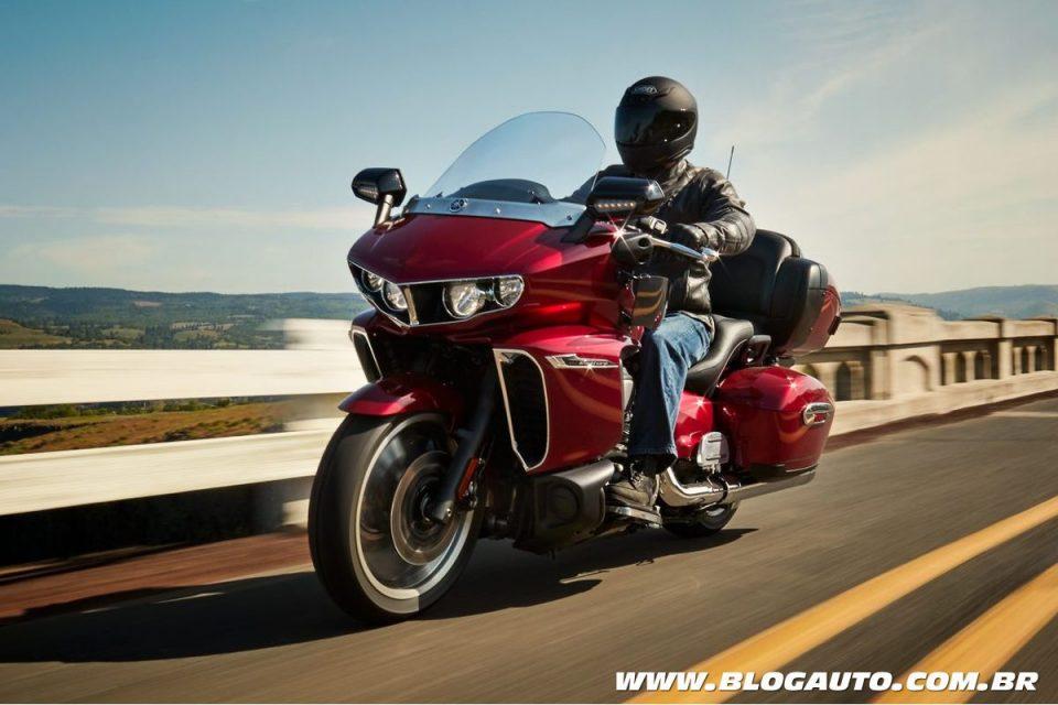 """Yamaha Star Venture é uma das motos """"pesos-pesados"""""""