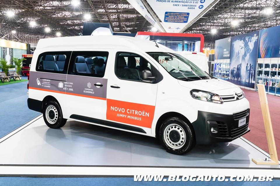 Citroën Jumpy Minibus leva 11 ocupantes por R$ 118.600