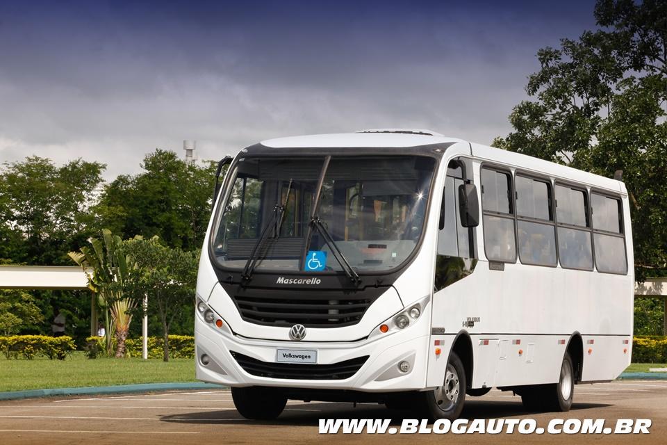 Volksbus 9.160 chega para comemorar os 25 anos da marca
