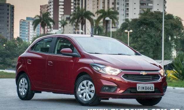 Chevrolet Onix 2019 todas versões tem aumento
