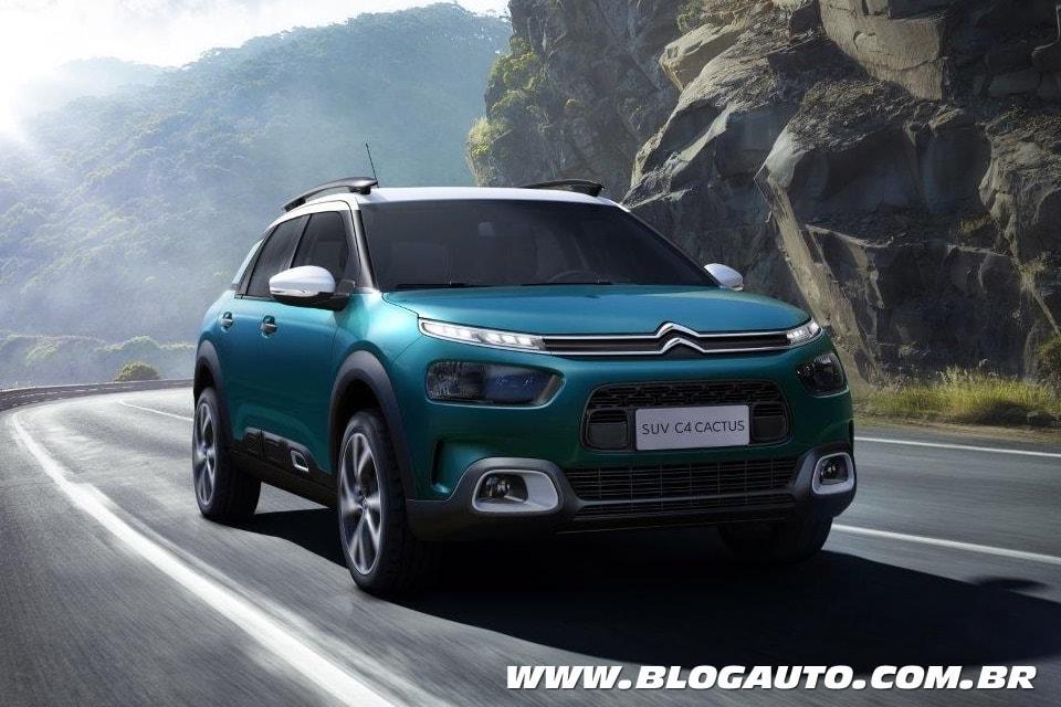 Citroën C4 Cactus nacional tem imagens reveladas