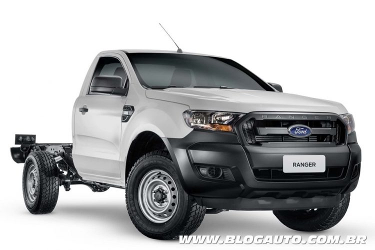 Ford Ranger 2019 XL Chassi