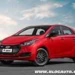 Hyundai HB20 2019 poucas mudanças antes da nova geração