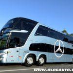 Mercedes-Benz com Fuel Efficiency para ônibus rodoviários