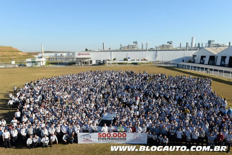 Toyota Etios 500 mil