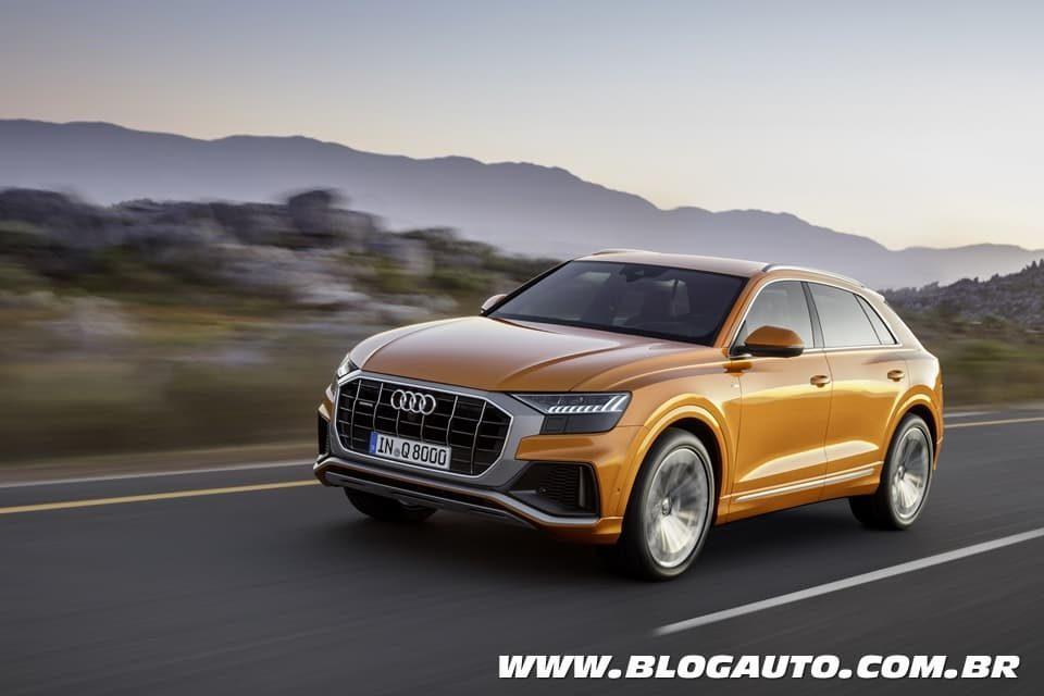 Audi Q8 2019 define o futuro dos SUVs da marca