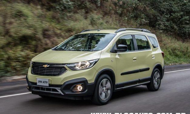 Chevrolet Spin 2019, muda e agora com sete lugares