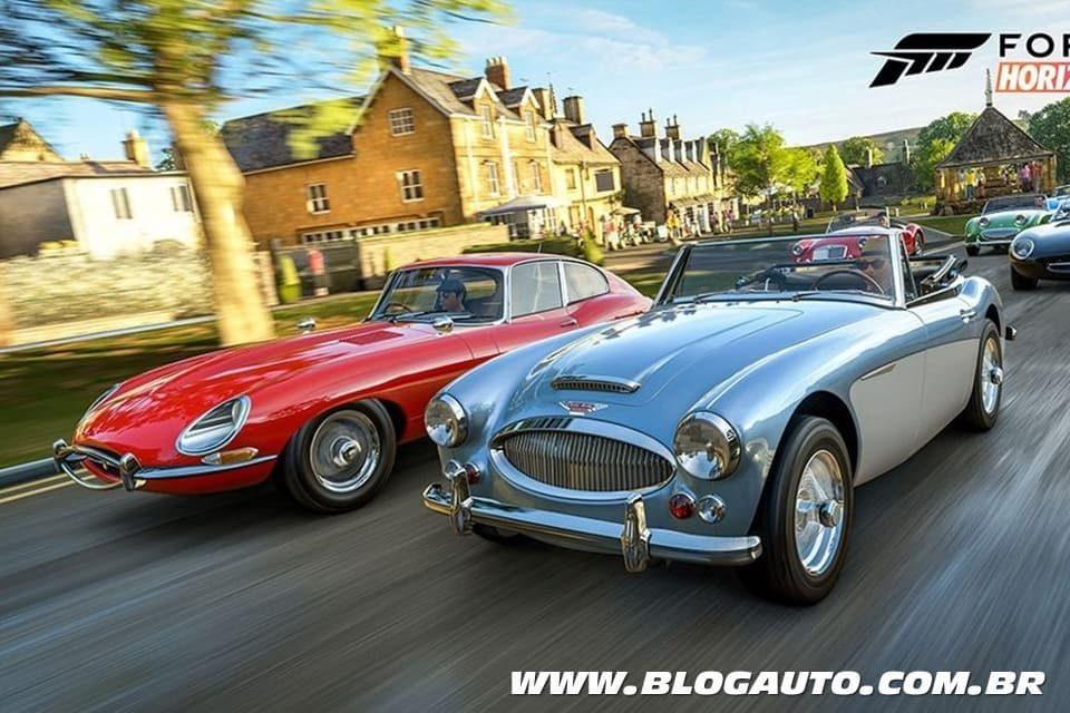 Forza Horizon 4 terá mais de 450 carros, veja a lista