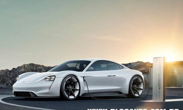Porsche Taycan, o primeiro totalmente elétrico