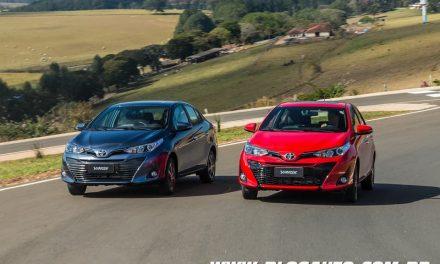 Toyota Yaris 2019 chega a partir de R$ 59.590